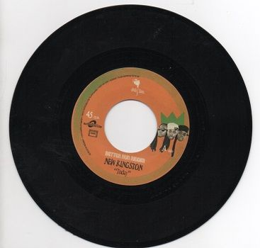 Better Run Riddim: New Kingston - Today / VC Rise (Dub Inc) UK 7""
