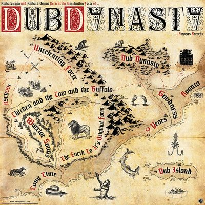 Alpha Steppa & Alpha & Omega Present The Unrelenting Force Of Dub Dynasty (Steppa) CD