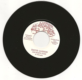 David Jahson - Jah Rasta Fari / Inner Circle - Tafari Dub (Top Ranking Sounds) UK 7""