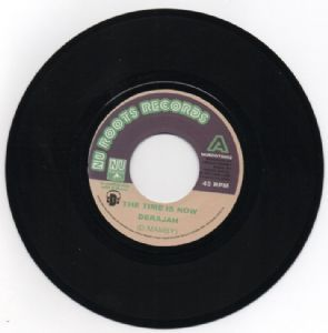 Derajah - The Time Is now / Rolling Lion Studio - Dub Is Now (Nu Roots Records) UK 7""