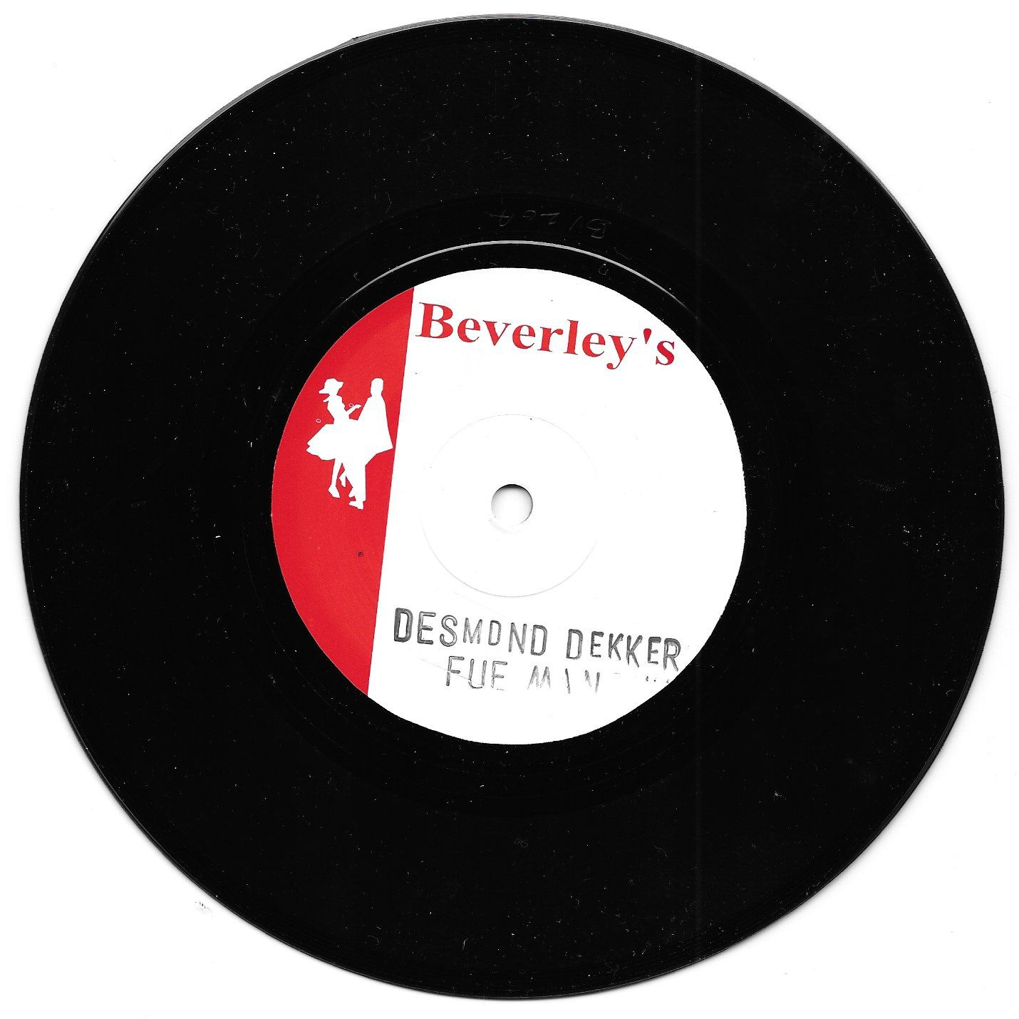 Desmond Dekker - Fu Man Chu / version (Beverley's Records) UK 7""
