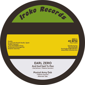 Earl Zero - And God Said To Man / dub (Iroko) EU 12