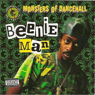 Sale Item Beenie Man Monsters Of Dancehall Greensleves Cd