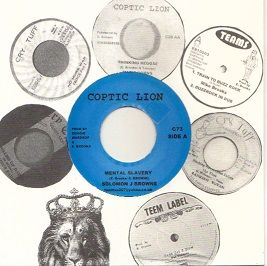 The Calling Riddim: Solomon J Browne - Mental Slavery / version (Coptic Lion) UK 7""