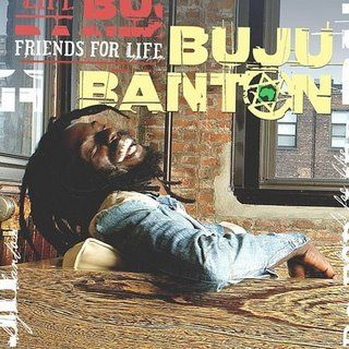 SALE ITEM - Buju Banton - Friends For Life (VP Records/Atlantic) LP