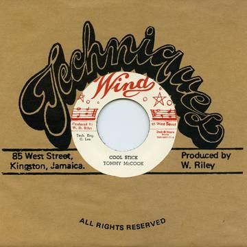 Tommy McCook - Cool Stick / Cannon Ball - Diversion (Wind / Dub Store Records) JPN 7""