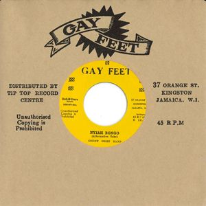 Count Ossie Band - Nyiah Bongo  / Patsy - Pata Pata Rocksteady (Gay Feet / Dub Store) 7""
