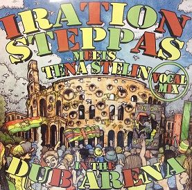 Iration Steppas Meets Tena Stelin - In The Dub Arena Vocal Mix (Iration Steppas) LP