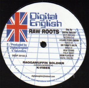 K Vibes - Raggamuffin Soldier / Meditations - Did You Know / dub (Digital English) US 10""