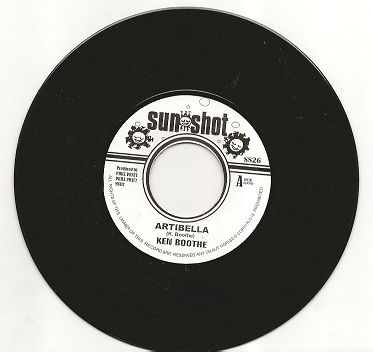 Ken Booth - Artibella / version (Sun Shot) UK 7""