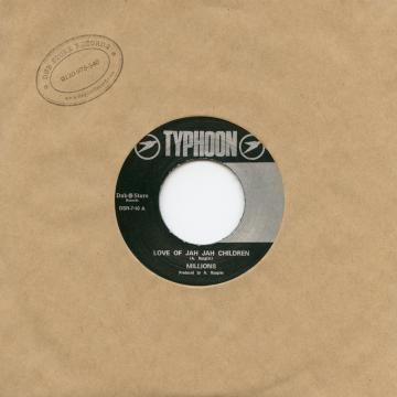 Millions - Love Of Jah Jah Children / Version (Typhoon / Dub Store Records) JPN 7