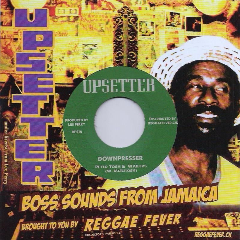 Peter Tosh Downpresser Righteous Upsetters Downpresser