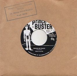 Prince Buster - Prince Of Peace / Faith (Prince Buster / Rock-A-Shaka) JAP 7""