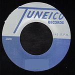 Roland Alphonso - El Pussy Cat / Larry Marshall - Snake In The Grass (Tuneico) JA blue vinyl