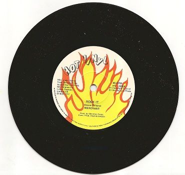 SALE ITEM - Merchant - Rock It / Pain In Danger (HOT VINYL) UK 7""