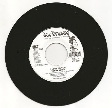 SALE ITEM - Terry Linen - I Look To You / Instrumental (Joe Fraser) UK 7""