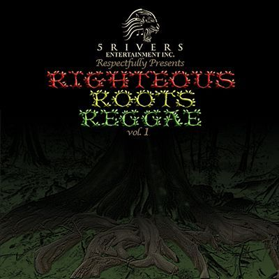 SALE ITEM  - Various - 5 Rivers Entertainment Inc. Present Righteous Roots Reggae Vol.1 CD