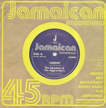 The Upsetters & The Aggrovators - Labrish (Jamaican Recordings) UK 7